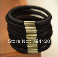 TS028 Min.order is $10 (mix order) Fashion korea Cheapest Black Elastic hair bands wholesale free shipping hair jewelry!