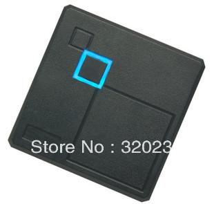 Waterproof Security Door Black ID Wiegand 26 RFID 125KHz Card Reader Free Shipping(China (Mainland))