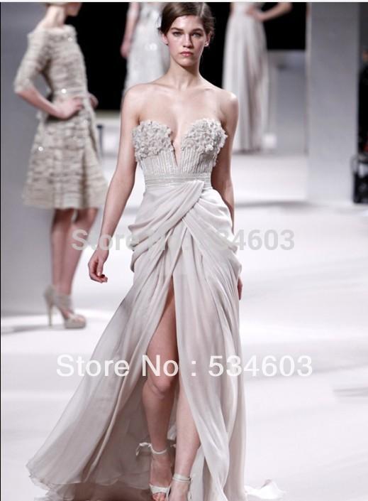 Вечернее платье Elie Saab cr/113 CR-113 вечернее платье the covenant of sexy goddess 2015 elie saab vestidos evening dresses