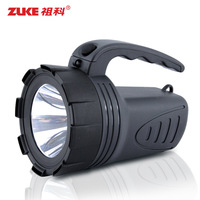 Free shipping Led charge searchlight led light portable hand lamp led flashlight emergency light waterproof