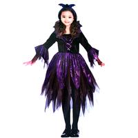 Halloween  Costume for Girl magic fairy cosplay  kids halloween clothes