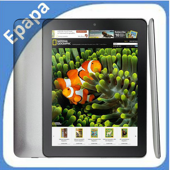 Onda V801 Quad-Core 8 Inch IPS Screen Android 4.0 Tablet PC with 1GB RAM, 16GB ROM ,Free Shipping