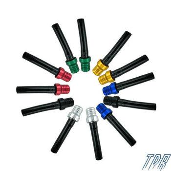 12pcs Colorful dirt bike fuel tank vent valve tube for mini motocross ATV oil tank cheap