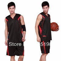 Free Shipping 100% polyester cheap basketball jerseys for men summer sportwear man