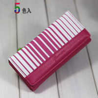 Girls long 2013 women's design wallet card holder women's handbag