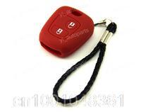 Silicone Case Cover Holder For Citroen Remote Key C2 C3 C4 C5 Xsara Picasso Xantia Berlingo Red