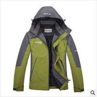 Male ski-wear, outdoor clothing manufacturer mountaineering wear a suit sportswear brand