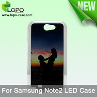 Free shipping !!!!! Sublimation Led Phone Cover for Samsung N7100