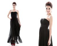 Free shipping 2014 new dress brand design european style off shoulder Evening Dresses women backless dress Chiffon Long Dress