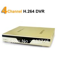 C229 4CH Security DVR Digital Video Recorder Network CCTV Camera System HD VGA&BNC