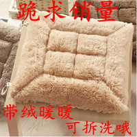 Thickening cushion sub cushion office pad winter thermal cushion dining chair cushion plush cushion unpick and wash seat
