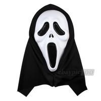 Scream Deluxe Ghost Face Mask plastic skull mask for halloween