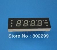 "7 Segment LED Digit Display: 0.25"" 4 DIGIT Super Red 7-Segment Common Anode 24P LED display"