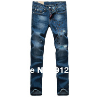 2013 autumn and winter fashion men's jeans, thick cotton trousers high quality British style casual work pants