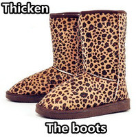 Free shipping New hot Boots women In-tube snow boots warm cotton boots women's ladies boots