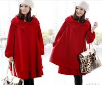 women fashionable casual elegant mantissas overcoat woolen outerwear long-sleeve slim tweed fabric