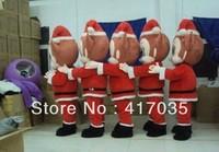 1Pcs Free Shipping Cartoon Doll clothing Christmas Santa Claus Plush show props show performances Christmas Costume