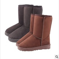 Free shipping New hot Boots women warm cotton boots fashion perfect wool flat heel boots shoes ladies boots