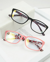 Gold plated film radiation-resistant plain mirror the trend of the computer function of glasses myopia glasses frame