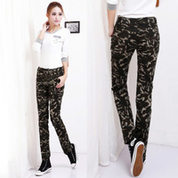 Cheap New Fashion 2013 Jumpsuits Baggy Camouflage Pants For Women, Women's Army Cargo Pants, Plus Size Camo Pants, Sweat Pants