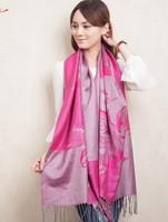 2013 New Fashion style Women's Pashmina Cashmere Shawl Scraf Scarves wrap Hotpink 613154-7