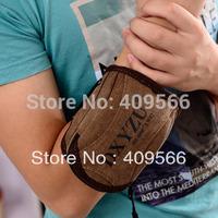 Hot !!! 2014 Fashion Small Canvas Wrist Bag Casual Men Arm Package Men's Handbag Small Purse for Man Mini Bags