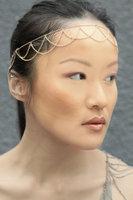 (min mixed order $15) Fashion Hair Accessories Punk Chain Tassel Hair Jewelry Head Chain