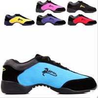 Boxing day sale! (No sansha) canvas sneakers for women slimming dance shoes modern sport dance shoes square dance jazz shoes