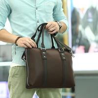 2013 trend PU briefcase business bag package soft bread handbag 9304 f70
