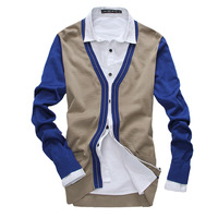 2013 autumn sweater cardigan male sweater male slim sweater men's cardigan trend cardigan men's clothing