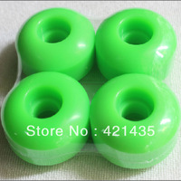 Freeshipping 65D Green Color Speed  Wheel Skateboard Wheels PU Skateboard Wheel 51mm Skate Wheel Skate