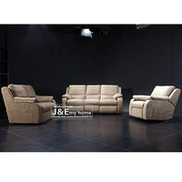 Post people combined set of living room furniture modern fashion style cloth wood function sofa