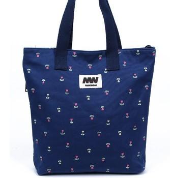 Small flower 2013 women's handbag shoulder bag brief bag Women fashion handbag canvas bag