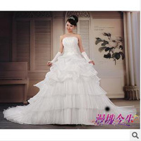 free shipping  new  fantasy  wedding  long dress 2013