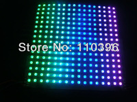 16*16 pixel Dc 5v 17*17cm Black Board Ws2811 IC Built-in SMD 5050 RGB Chip Ws2811 Panel