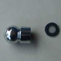 Copper top spray ball joint nozzle 4 interface shower