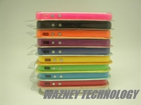 2000pcs/lot**Bumper Case Cover For iPhone 4S 4G With Metal Buttons All Colours Available with retail pcaking *Free shipping