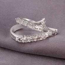 Free Shipping 925 Sterling Silver Earring Fine Fashion Cute Zircon Drop Earrings Silver Jewelry Earring Top Quality SMTE312