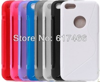 wholesale,free shipping,fishion nice color Soft Rubber silicon back Case Fits for iPhone 5c mix style