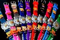 Sponge Bob Square Pants 3D Cartoon Children Kids Boys Girls Students Quartz Wrist Watches