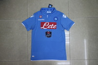 shipping free  Napoli   home  soccer jerseys thailand quality top  2013-2014,Exquisite embroidery logo and star number