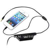 FM Transmitter 3.5mm Audio with Car Charger For iPhone 4 4S 5 ipad 2 3 4 ipad mini iPod  Galaxy S3 S4 MP3 MP4 Support Hands free