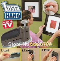 60pcs/lot Insta Hang as seen on TV Picture Hanger Wall Hook Drywall Hangers