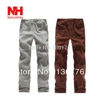 2014 Time-limited Mammoth Naturehike-nh Men Thermal Fleece Pants Warmpus Fabric Roller Ski Trousers Fashion Winter Dress Woman