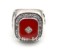Free Shipping !Rhodium Plated size 10 replica 1947 Chicago Cardinals world  championship ring as gift
