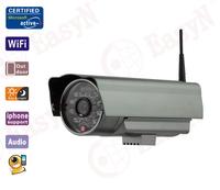 outdoor HD Waterproof+support bidirectional audio+wifi wireless ip Surveillance camera