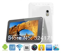 New 7 Inch Colorful Allwinner A20 Tablet  Android 4.2 Capactitive Touch Tablet PC DHLFree Shipping  A720S