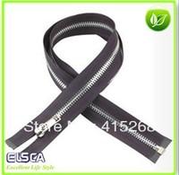 Free Shipping 50CM Metal Zipper 50Pcs/Lot Open End Zipper DIY Accessary for Bags Garment Home Textile