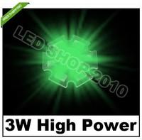 10pcs 3W Green HIGH POWER LED Star 140LM 140degree light