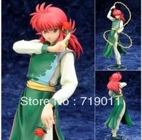 Free shipping High Quality Japanese Anime YuYu Hakusho Series Kurama PVC Figure Toy for Collection